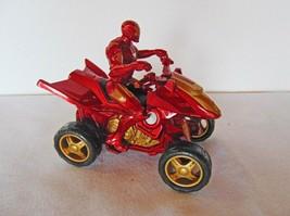 2010 Marvel Iron Man ATV  Quad / Motorcycle C-2945A Hasbro - $11.87