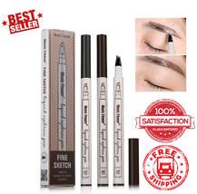 Makeup Waterproof Fine Sketch Liquid Eyebrow Pen Tattoo Smudge-proof NEW... - $6.87