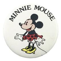 "Disney's Minni Mouse 2"" Vintage Pinback Button - $7.69"