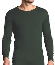 Forestman - Mens Thin Winter Warm Green Cotton Thermal Underwear Vest To... - $18.59