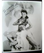 LENA HORNE ( ORIGINAL VINTAGE AUTOGRAPH PHOTO) FANTASTIC - $225.00