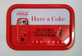 "Coca-Cola ""Have a Coke"" Tin Tray - BRAND NEW - $5.45"