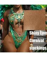 Tizabera® Stockings Carnival Stockings SexyShiny Pantyhose Glitter Tight... - $5.67