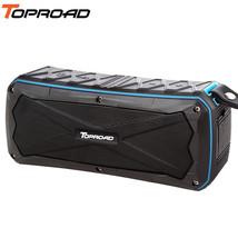 TOPROAD® Big 16W Wireless Stereo Bluetooth Speaker IP66 Waterproof Speakers - $45.80