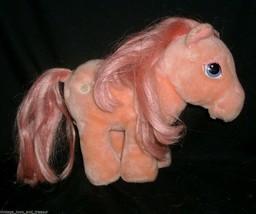 Vintage hasbro softies my little pony cotton candy stuffed animal pink toy - $32.36