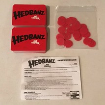 Hedbanz No Limits Board Game Replacement Parts Pieces Choice Cards Chips - $3.99+