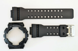 Casio GA-110 Genuine Watch Band & Bezel Rubber Strap  Black G-Shock GA-... - $44.95