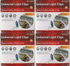 4x 100ct Simple Living Innovationen Universal Weihnachten Licht Gutter C... - $21.90