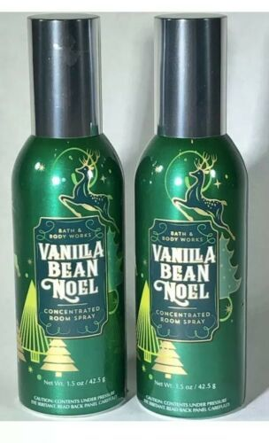Primary image for bath & body works Vanilla Bean Noel concentrated room spray ~ 2 Pack NEW