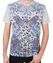 Versace Collection Printed Royal Men's Tee NWT  image 5