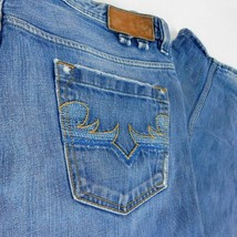 Diesel Industry Blue Denim Jeans Shazor Button Fly W 36 L 32 (Act W 37 )... - $44.99