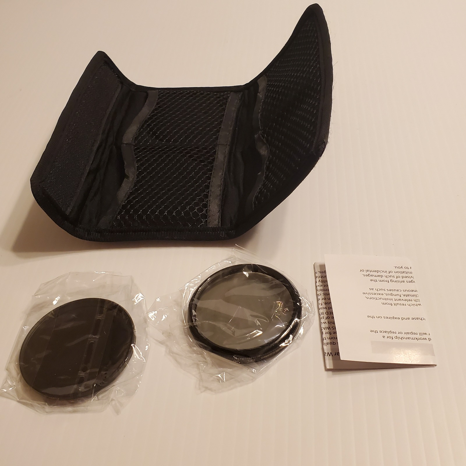 Primary image for Set of 2 Vivitar HD 55mm filters multi coated. Comes with original pouch New