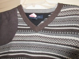 Tommy Hilfiger , Mens Sweater , Size XL TG/XG , 79% Lambs Wool, Browns ,... - $50.00