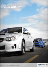 2013 Subaru IMPREZA WRX sales brochure catalog US 13 STI Limited - $10.00