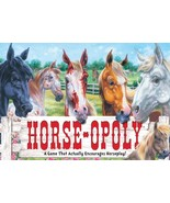 Horseopoly Board Game - The Game That Actually Encourages Horseplay - 8 ... - $20.00