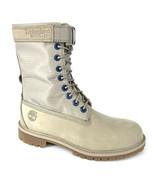 """Timberland Junior's Premium 6"""" Dark Beige Nubuck Gaiter Boots A24SX - $79.99"""