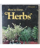 Vtg 1975 Sunset How to Grow Herbs Illustrated in English Gardening Paper... - $9.89