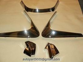 Chromed Honda Helix Parts Chrome Visors,windshield and fork Cover 5Pcs - $75.00