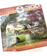 Eurographics Old Pumpkin Farm by Dominic Davison 300 XL Piece Puzzle USA... - $44.54