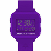 LRG Lifted Research Group Purple Digital LCD Tree Search Watch New in Box
