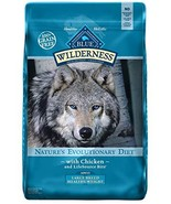 Blue Buffalo Wilderness High Protein Grain Free, Natural Adult Large Bre... - $47.46