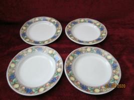 Wedgwood Sienna set of 4 bread plates  - $12.82
