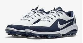 NEW Nike React Vapor 2 White Blue Golf Shoes BV1135-100 Size 11 $175 - $118.79