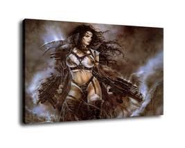 Luis_Royo Art oil painting printed on canvas home decor - $14.99+