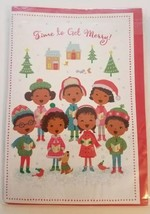Hallmark Mahogany Musical Christmas Greeting Card with Envelope  free sh... - $8.90