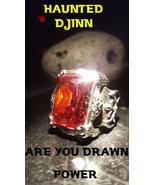 Magick ring Djinn of EXTREME MYSTICAL LUCK /haunted Marid Genie Illuminati  - $1,977.00