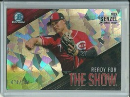 2019 Bowman Chrome The Show Atomic Nick Senzel 70/150 Reds Free Shipping - $9.99