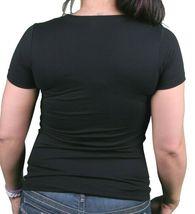 Women's I Love You But I've Chosen Electro Music 100% cotton Black T-Shirt NEW image 3