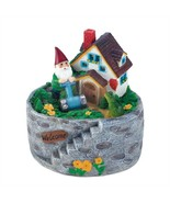 Storybook Home Gnome Solar Statue - $27.25 CAD