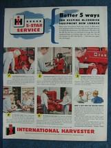 1949 Farmall International Harvester Ad ~ 5 Ways To Make Equipment Last Longer - $8.06