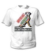 Dalmatian - official walker c - NEW COTTON WHITE TSHIRT - $19.53