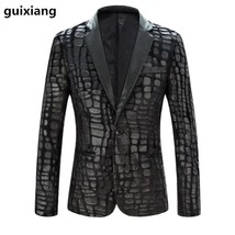 2019 spring High quality casual fashion blazer men Business blazer jacke... - $84.10