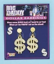 Big Daddy Dollar Earrings **Forum Novelties** - $8.91