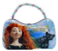 Disney Pixar Movie Brave, Merida Girls Scoop Purse Carry All Tin Tote NE... - $12.59