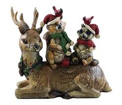 Gerson Forest Friends Woodland Holiday Figurine - $22.98