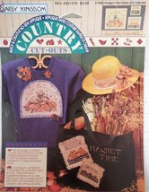 Daisy Kingdom Country Cutouts No-Sew Applique Pumpkin Pie #19202 - $13.49