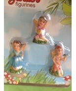 Fairy Garden Miniature Figurine Set of 3 Faries Dollhouse New - $7.92