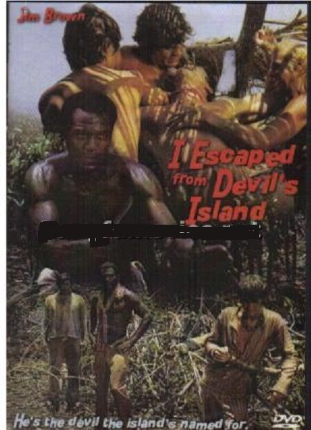 I ESCAPED FROM DEVILS ISLAND (JIM BROWN) DVD