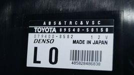 Lexus LS430 ABS TRC VSC Control Module 89540-50150 image 4