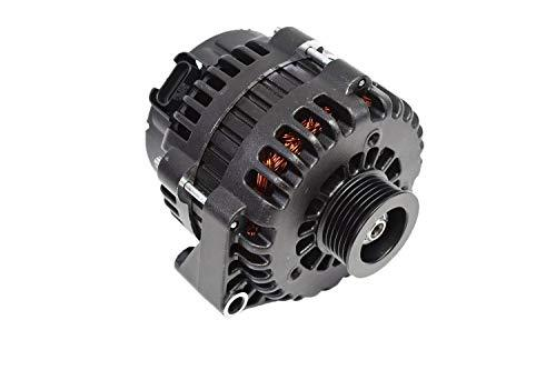 A-Team Performance GM AD244 Style High Output 220 Amp Alternator Black Compatibl