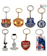 OFFICIAL FOOTBALL SOCCER CLUB TEAM KEYRING KEY RING CHAIN CREST METAL FA... - $5.93+