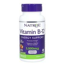 Vitamin B12 5000mcg Dietary Supplement Energy Support Fast Dissolve 100 ... - $18.80