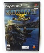 Socom 2 PLAYSTATION 2 U.S.Marine Joints Sony Ps2 Année 2003 - $13.37