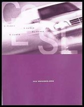 1997 Mercedes-Benz Full Line Brochure C E S SL Class - $8.98