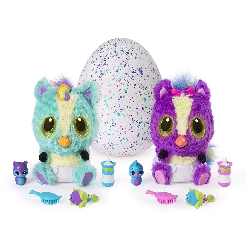 Hatchimals, HatchiBabies Ponette, Hatching Egg with Interactive Toy Pet Baby (St
