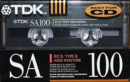 TDK SA-100 IEC II/TYPE II High Bias - $17.00